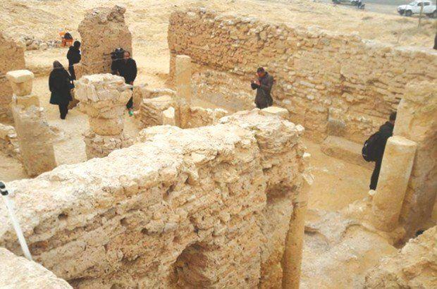 Site archéologique dans la wilaya de