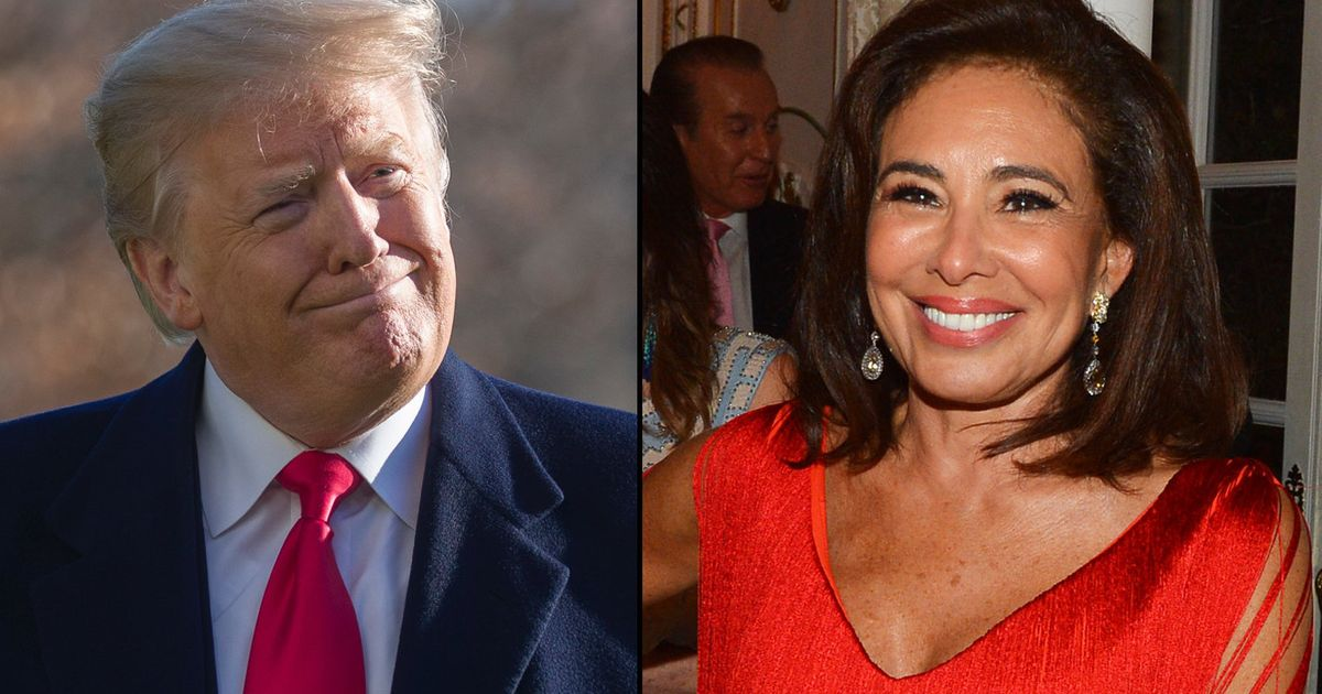 Trump Begs Fox News To 'Bring Back' Jeanine Pirro After Her Rant About Ilhan Omar's Hijab thumbnail