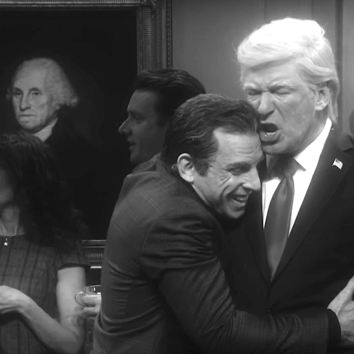 """Trump rails at """"SNL"""" rerun"""