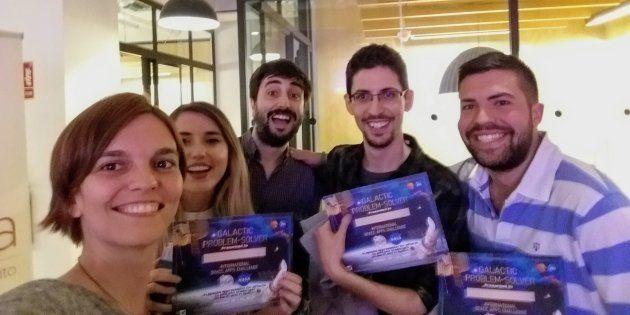 Los cinco españoles ganadores de un concurso de la