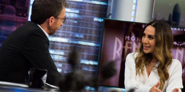 Mónica Naranjo, con Pablo Motos en 'El Hormiguero' (Antena
