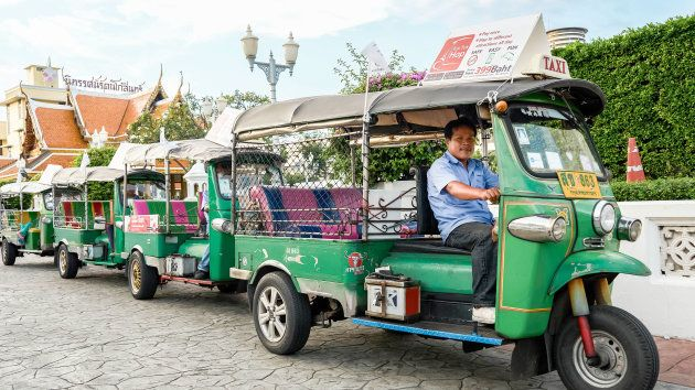 Bangkok (Tailandia) en tuk