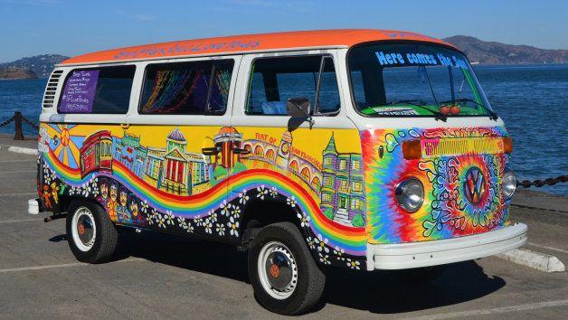San Francisco (California) en autobús Volkswagen