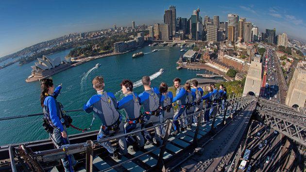 Sídney (Australia) escalando el Harbour