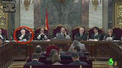 La loca reacción de un juez del procés en plena declaración de Rufián que provoca el cachondeo de Dani