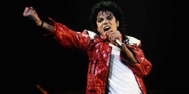 Michael Jackson, en un concierto de