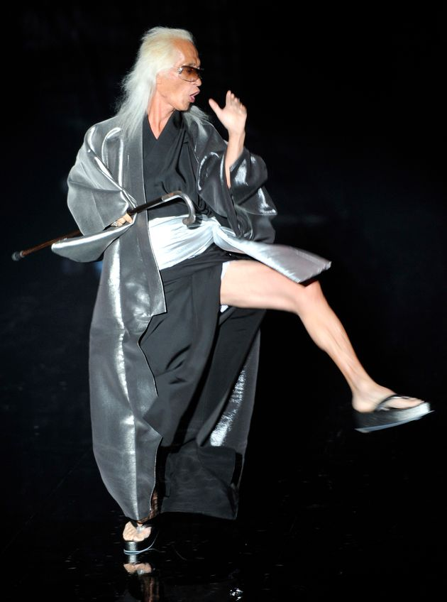 2008年にはモデルとしてイベントに参加