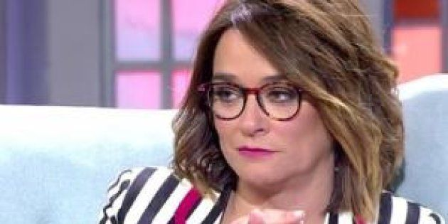La presentadora Toñi
