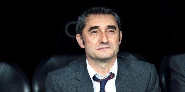 El entrenador del Barcelona Ernesto