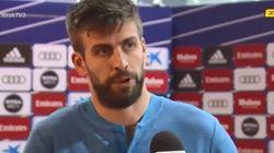 Piqué defiende a los presos del procés tras el Madrid-Barça: