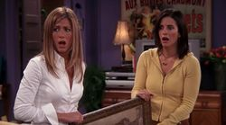 Sentirás mucha nostalgia al ver la escena de 'Friends' que Courteney Cox (Monica) ha