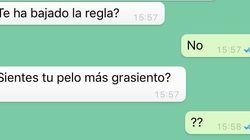 La pregunta sobre la regla de un chico a su novia en WhatsApp que arrasa en