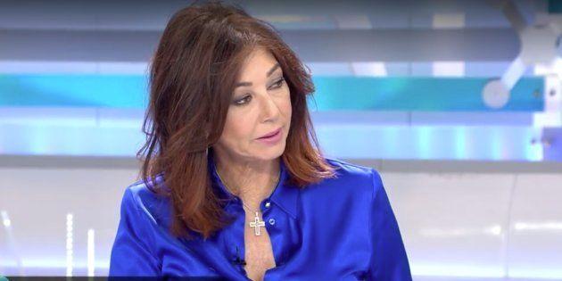 Ana Rosa Quintana, presentadora de 'El Programa de