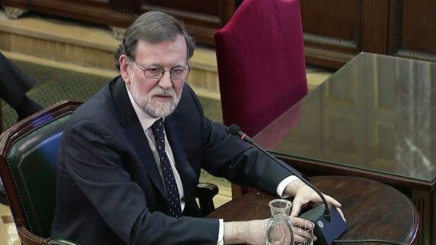 Mariano Rajoy, en el juicio al