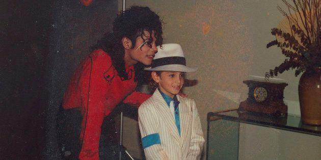 Michael Jackson y Wade Robson, que ha acusado al cantante de abusos