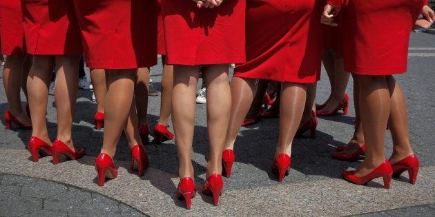 Las azafatas de Virgin Atlantic podrán ir al trabajo sin