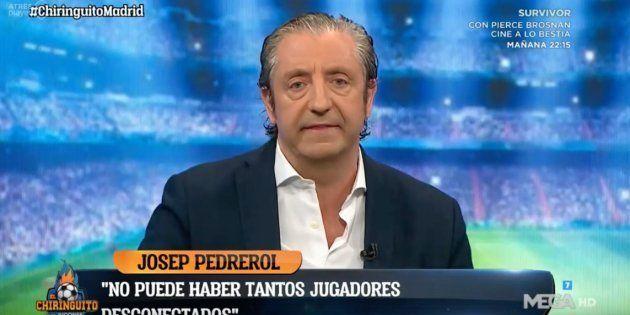 Josep Pedrerol fue muy crítico con el Real