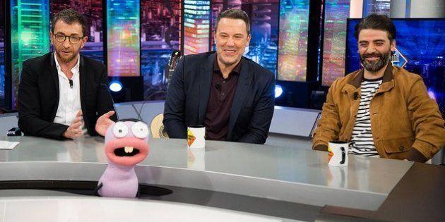 Pablo Motos, Ben Affleck y Oscar Isaac en 'El