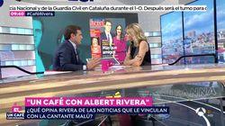El 'corte' de Albert Rivera a Susanna Griso tras una pregunta sobre su vida privada en 'Espejo