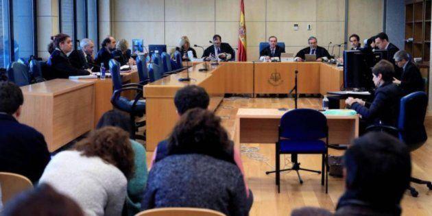 Testigos declarando ante la Audiencia Nacional en relación al caso de