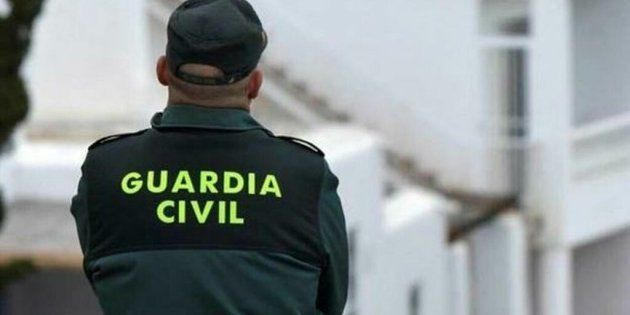 Un agente de la Guardia Civil, en una imagen de