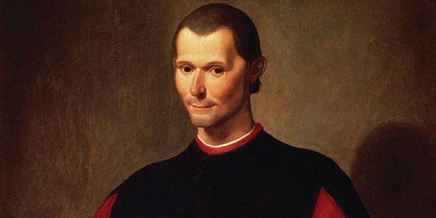 Retrato de Nicolás Maquiavelo, autor de 'El