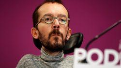 Críticas a Pablo Echenique por la razón que ha dado para no hacer huelga el