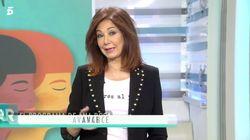 La comentada camiseta con la que Ana Rosa Quintana ha presentado 'El programa de
