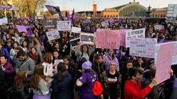 EN DIRECTO: la huelga feminista del