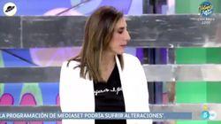 Telecinco manda un aviso sobre el 8-M en pleno directo de