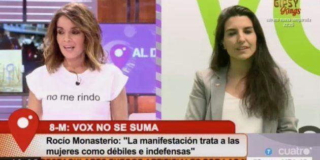 Carme Chaparro y Rocío Monasterio en 'Cuatro al