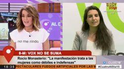 Indignación por lo que ha pasado en la entrevista de Carme Chaparro a Rocío Monasterio (Vox) en 'Cuatro al