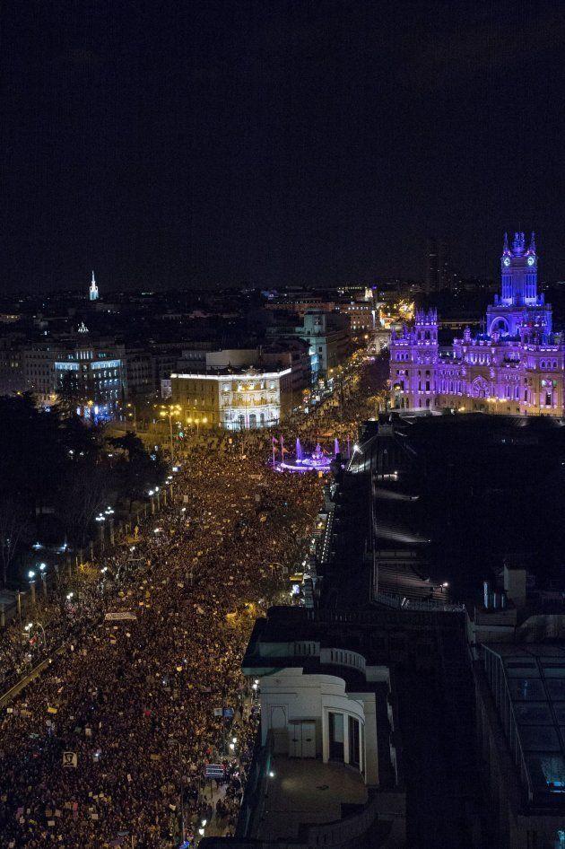 Manifestación del 8-M en