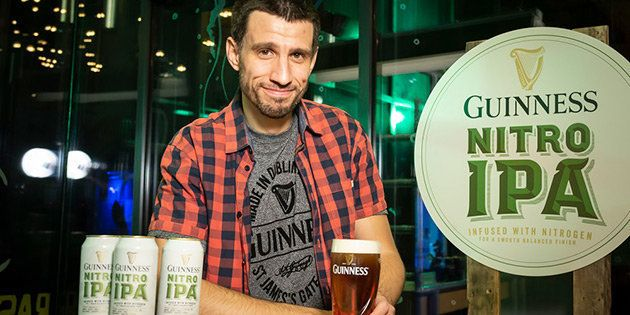 Luis Ortega, cervecero responsable de Guinness Nitro