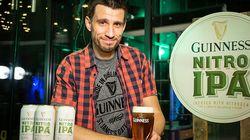 Guinness Nitro IPA, obra del cervecero español Luis