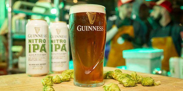 Guinness Nitro IPA lleva 5