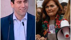 Teodoro García (PP), sobre Carmen Calvo en el 8-M: