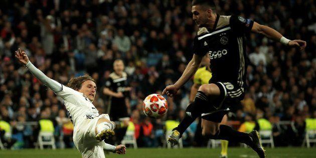 Encuentro entre el Real Madrid y el