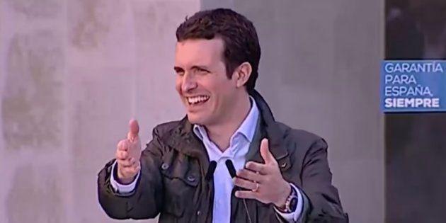 Pablo Casado, presidente del