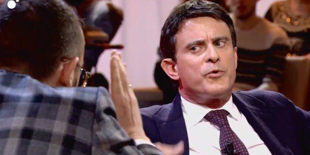 Manuel Valls tuvo un encontronazo con