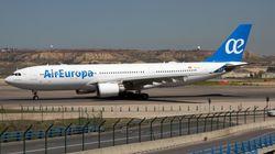 La tripulación de Air Europa no dormirá en Caracas por la situación de