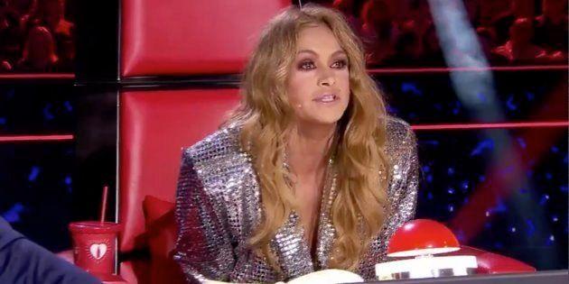 Paulina Rubio, en 'La Voz' (Antena