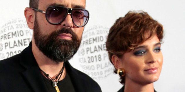 Risto Mejide y Laura Escanes, en la 67ª edición de los Premios