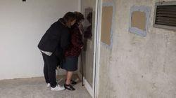 Familiares de víctimas del franquismo acceden por primera vez a la cripta del Valle de los