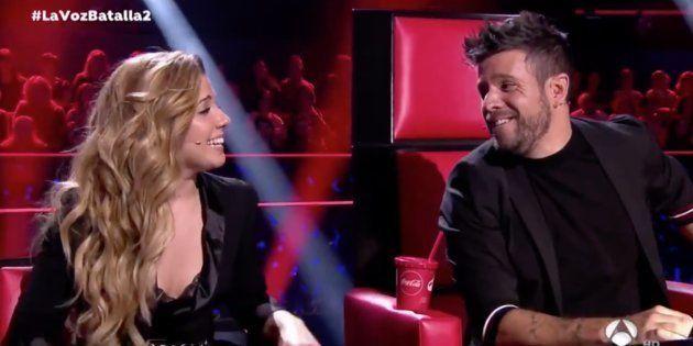 Pablo López y Miriam cantan juntos