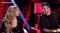 Miriam y Pablo López cumplen el deseo de la audiencia de 'La Voz' (Antena 3) e improvisan