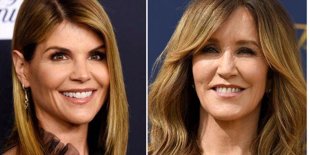 Las actrices Lori Loughlin y Felicity Huffman se encuentran entre las acusadas por participar en un escándalo...
