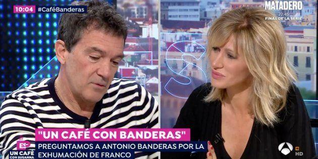Antonio Banderas y Susanna Griso en 'Espejo