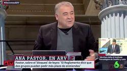 Ana Pastor, a Ferreras en directo de 'Al Rojo Vivo' (laSexta):