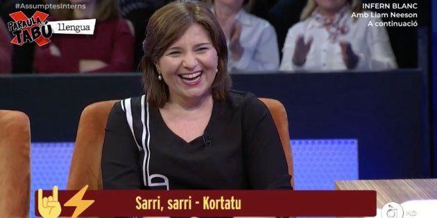 Isabel Bonig en el la televisión